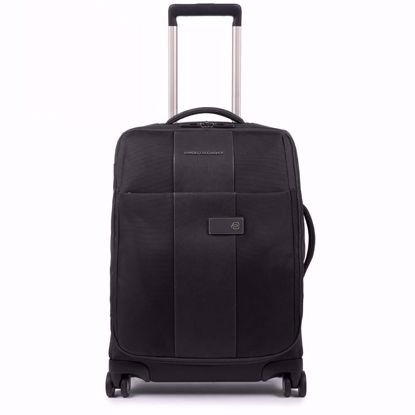 piquadro trolley cabina ultra slim 55 Brief nero