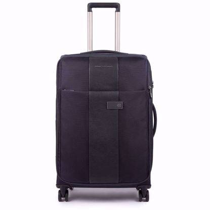 Piquadro trolley medio espandibile Brief blu