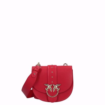 Pinko love bag Round Simply red