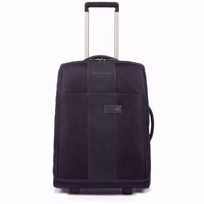 Piquadro trolley cabina 2 ruote 55 Brief blu
