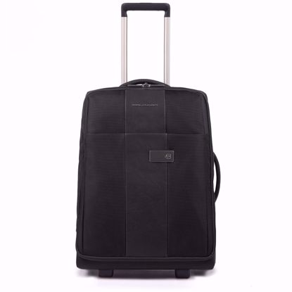 Piquadro trolley cabina 2 ruote 55 Brief nero