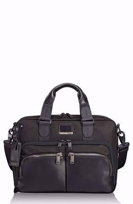borsa ventiquattrore porta pc sottile Albany Alpha bravo black , Tumi briefcase laptop slim Albany Alpha bravo - Black