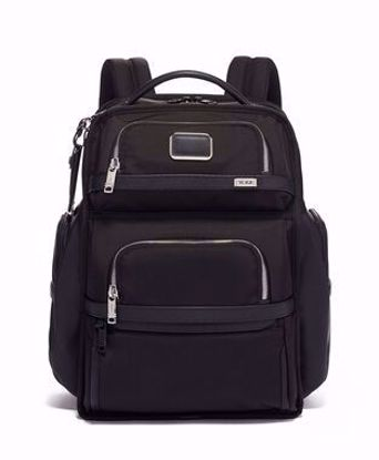 tumi zaino Alpha 3 Brief Pack Black chrome, Tumi backpack Alpha 3 Brief Pack Black chrome