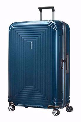 Samsonite luggage Neopulse 81 cm spinner metallic blue