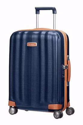 Samsonite cabin luggage Lite-Cube Dlx 55 cm midnight blue