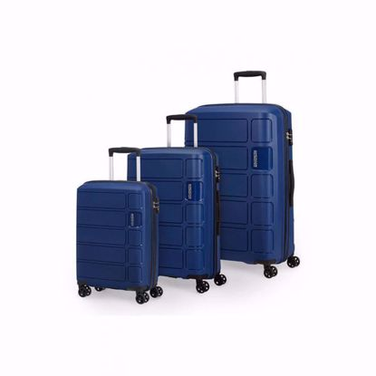American Tourister set valigie Summer Splash blue