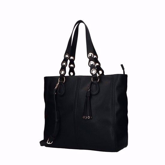 Liu Jo Tene borsa shopping tote L - Nero