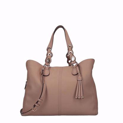 Liu Jo Tene borsa satchel L - Cappuccino