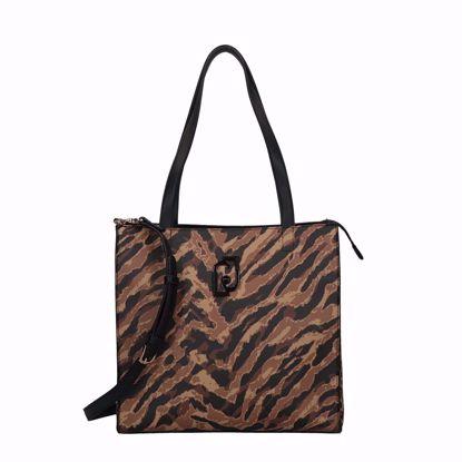 Liu Jo Young borsa shopping L - Maculato zebra