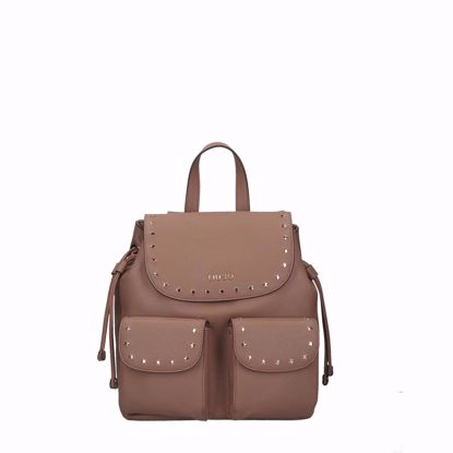 Liu Jo Spig zaino donna M - Indian tan
