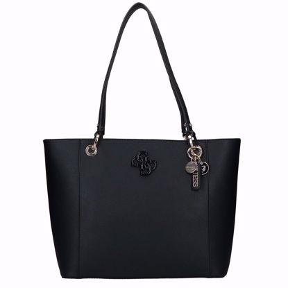 Guess borsa shopping Noelle nero, Guess shopping bag Noelle black