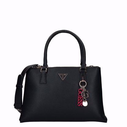 Guess borsa a mano Becca nero, Guess bag Becca black