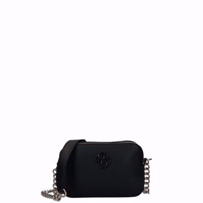 Guess borsa a tracolla Noelle nero, Guess crossbody bag Noelle black