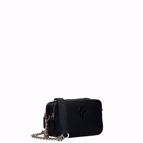 Guess borsa a tracolla Noelle nero, Guess crossbody bag Noelle black