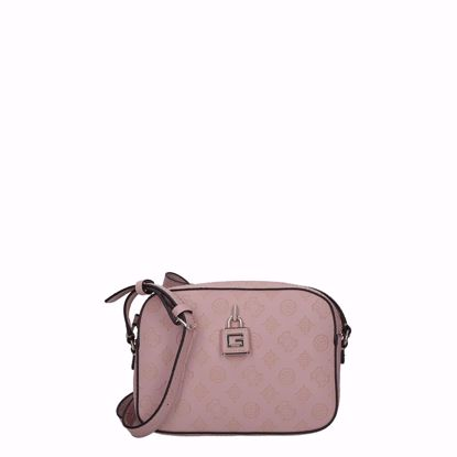 Guess borsa a tracolla Kamryn rosa, Guess crossbody bag Kamryn rose