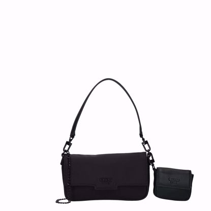 Guess borsa a tracolla Mini Me Mini black, Guess crossbody bag Mini Me Mini black