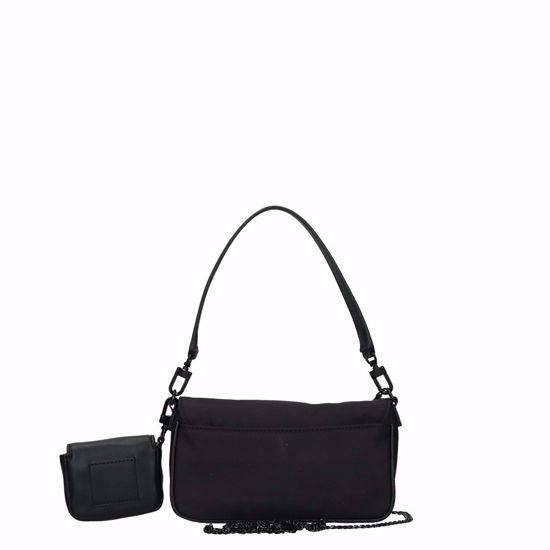 Guess borsa a tracolla Mini Me Mini black, Guess crossbody bag Mini Me Mini black