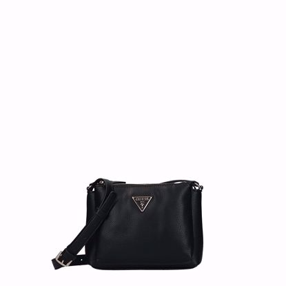 Guess borsa a tracolla Becca Mini black, Guess crossbody bag Becca Mini black