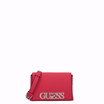 Guess borsa a tracolla Uptown Chic Mini scarlet, Guess crossbody bag Uptown Chic Mini scarlet