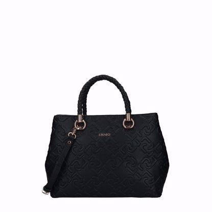 Liu Jo Manhattan borsa a mano satchel L - Nero