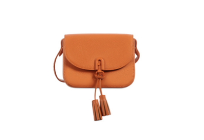 Furla 1927 mini crossbody bag con patta - Orange