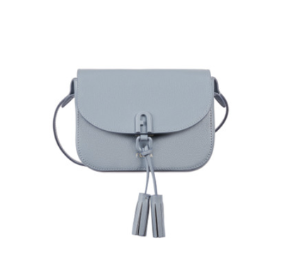 Furla 1927 mini crossbody bag con patta - Avio light