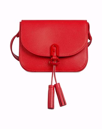 Furla 1927 mini crossbody bag con patta - Ruby