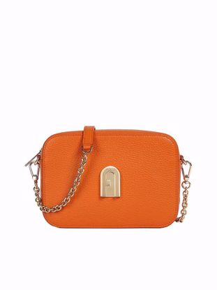 Furla Sleek mini borsa a bandoliera - Orange