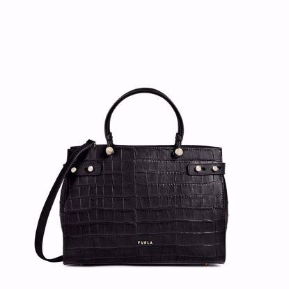 Furla Lady M shopping media - Nero
