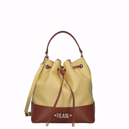 Alviero Martini borsa a secchiello Jour Bag tender yellow, Alviero Martini bucket bag Jour Bag tender yellow