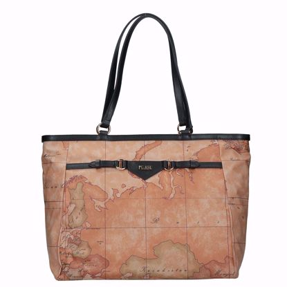 Alviero Martini borsa shopping Geo Soft Liberty nero, Alviero Martini shopping bag Geo Soft Liberty black