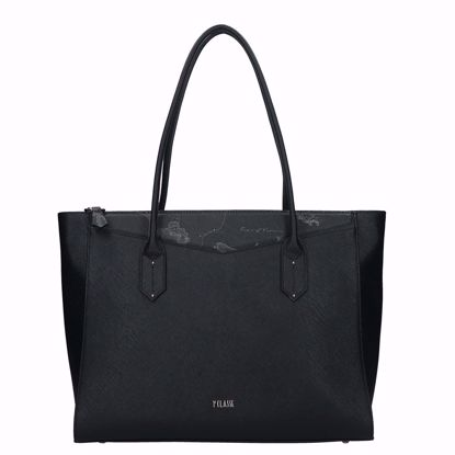 Alviero Martini borsa shopping Art City nero, Alviero Martini shopping bag Art City black