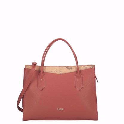Alviero Martini borsa a mano Art City burnt orange, Alviero Martini bag Art City burnt orange