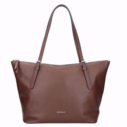 Coccinelle borsa shopping Alix moka, Coccinelle shopping bag Alix moka