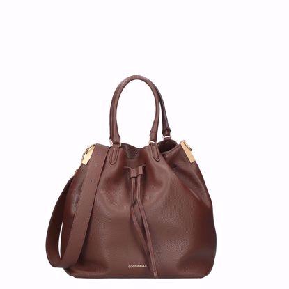 Coccinelle borsa a secchiello Gabrielle M moka, Coccinelle bag Gabrielle M moka