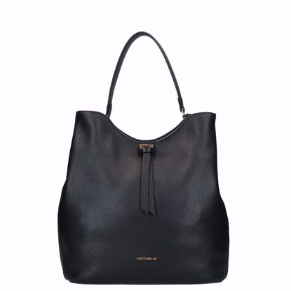 Coccinelle borsa a mano Joy nero, Coccinelle bag Joy Ful black