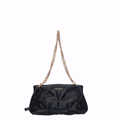 Coccinelle borsa a tracolla Ophelie Goodie nero, Coccinelle crossbody bag Ophelie Goodie black