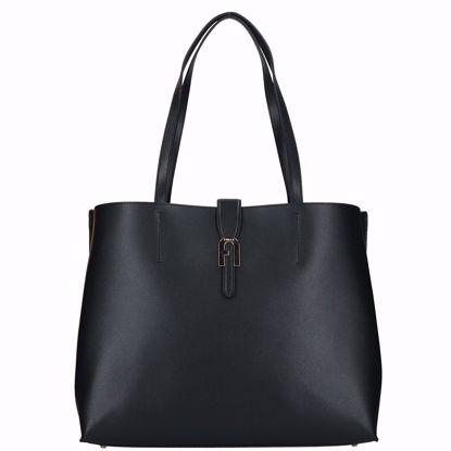Furla borsa shopping Sofia nero, Furla shopping bag Sofia black
