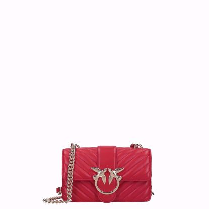 Pinko borsa love bag Mini Mix red,Pinko love bag Mini Mix red
