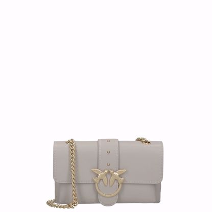 Pinko borsa love bag mini Soft Simply, Pinko love bag mini Soft Simply beige