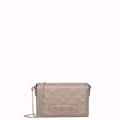 Love Moschino borsa a tracolla Quilted oro, Love Moschino crossbody bag Quilted gold