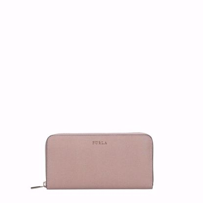 Furla portafogli donna con cerniera Babylon moonstone, Furla women's wallet with zip Babylon moonstone