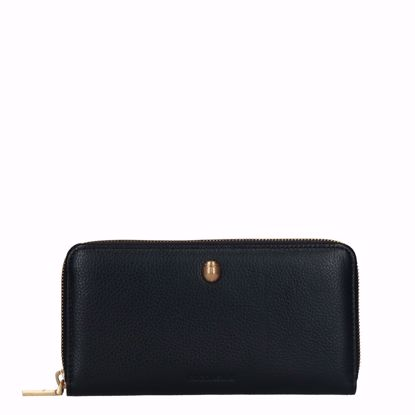 Coccinelle portafogli donna in pelle nero, Coccinelle woman's wallet leather black