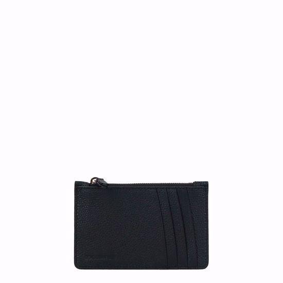 Coccinelle portafogli porta carte di credito Travel Items nero, Coccinelle credit card wallet Travel Items black