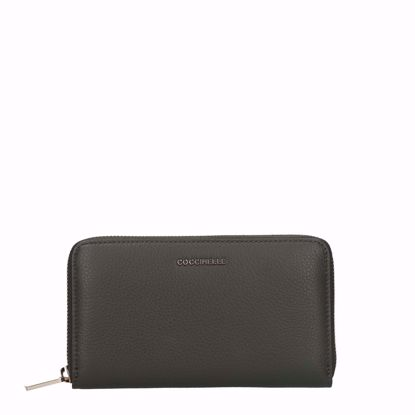 coccinelle portafogli donna con zip Metallic Soft reef, Coccinelle woman's wallet with zip Metallic Soft reef