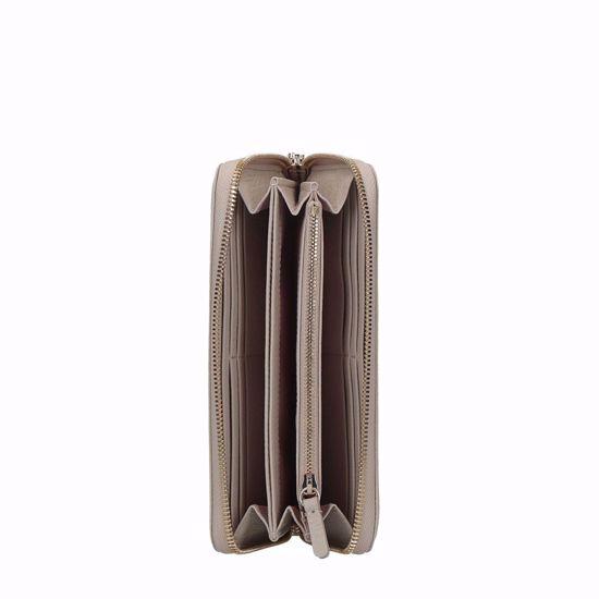 Coccinelle portafogli donna Metallic Soft seashell, Coccinelle woman's wallet Metallic Soft seashell