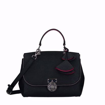 Guess borsa a mano Luxe nero, Guess bag Luxe black