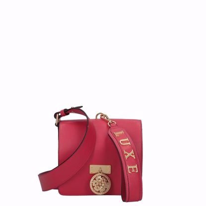 Guess borsa a tracolla Luxe red, Guess crossbody bag Luxe red