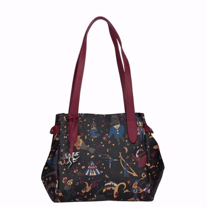 Piero Guidi borsa shopping Macic Circus nero