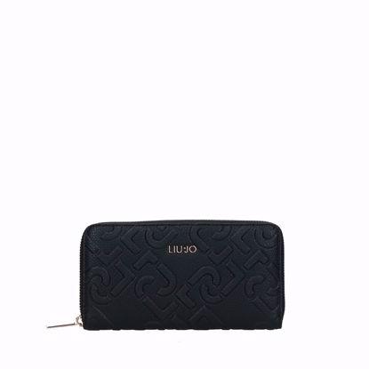 Liu Jo portafogli donna Manhattan nero, Liu Jo woman wallet with zip Manhattan black